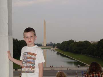 Matt at Lincoln Memorial
