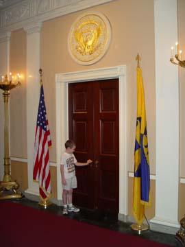 Matt at Oval Office